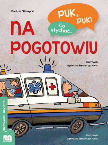 """Mariusz Niemycki """"Puk puk! Co słychać... na pogotowiu"""""""